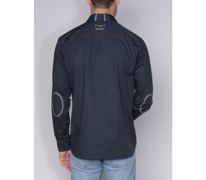 shirt ALVINO I midnight navy