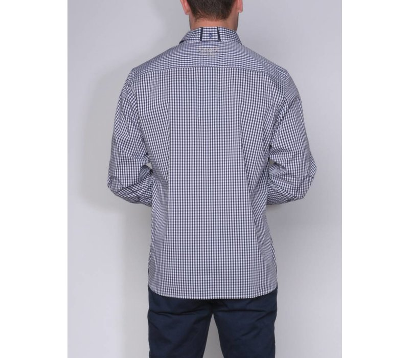 shirt ALVINO II m.navy-white