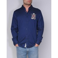 shirt ALVINO III m.navy-white
