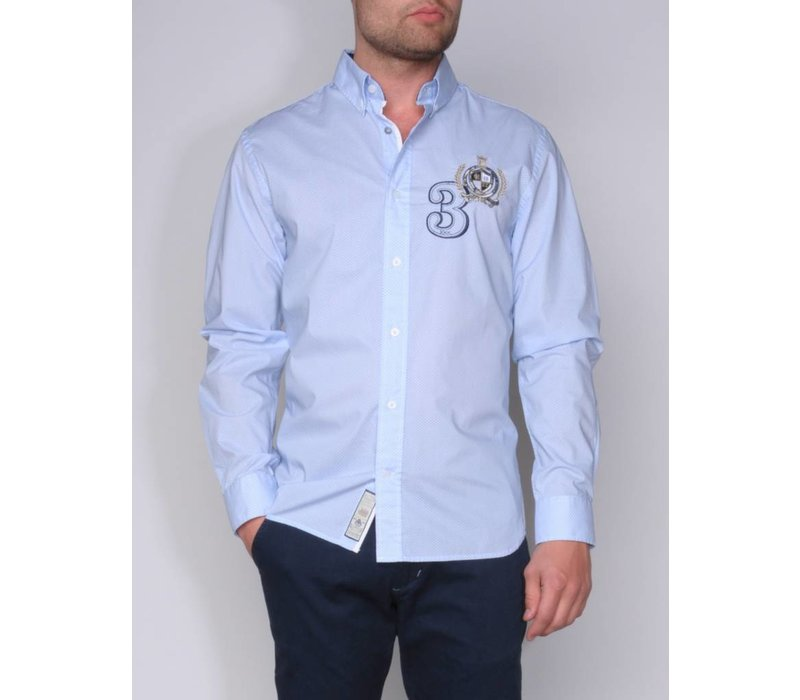 shirt ANDRES III skyblue