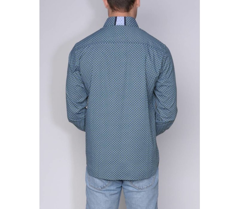 shirt ANDRES IV b.green-m.navy