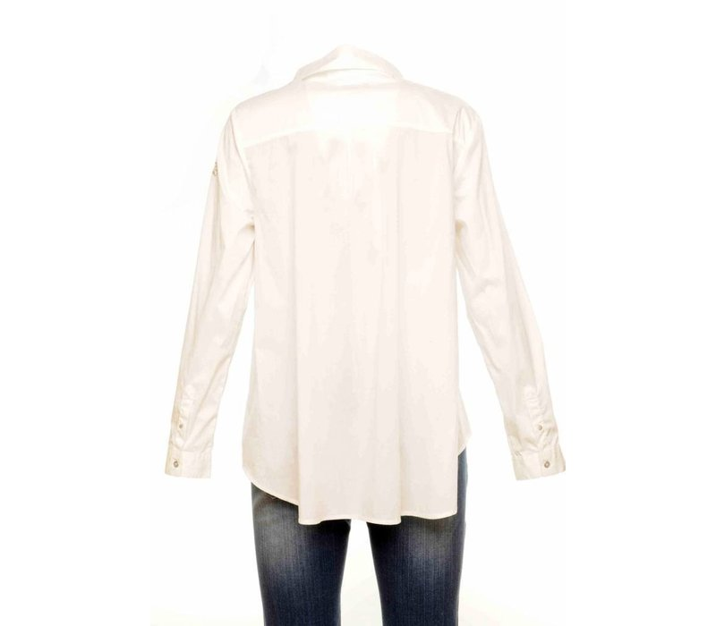 Blouse PALMIERA white