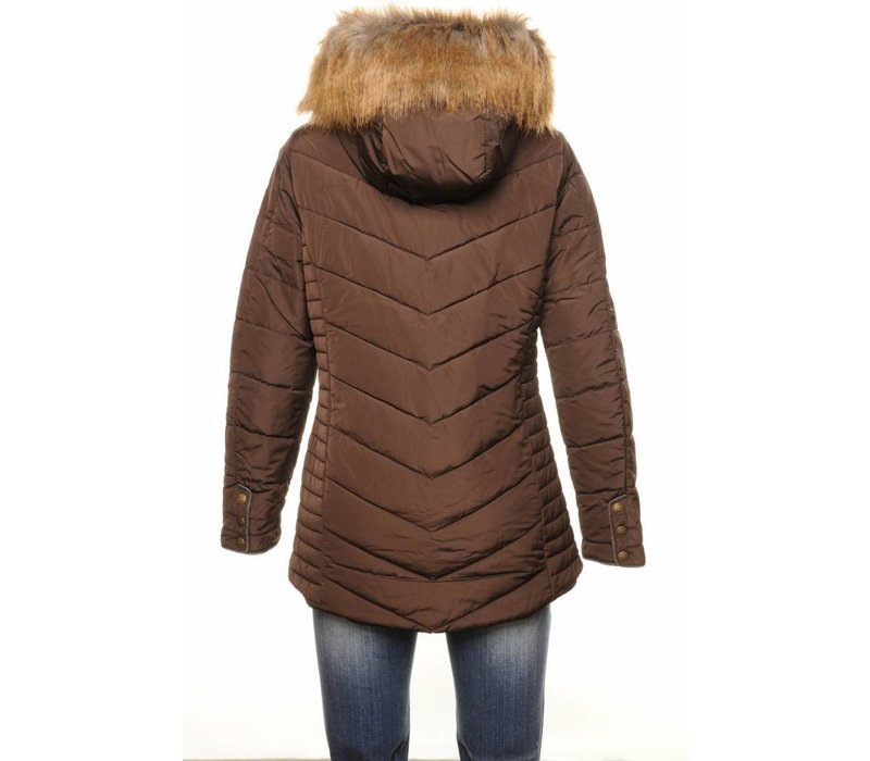 Coat CLARA chocolate