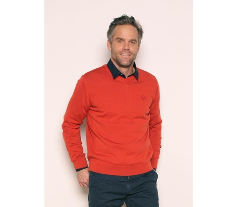 pullover PABLO jetsetred