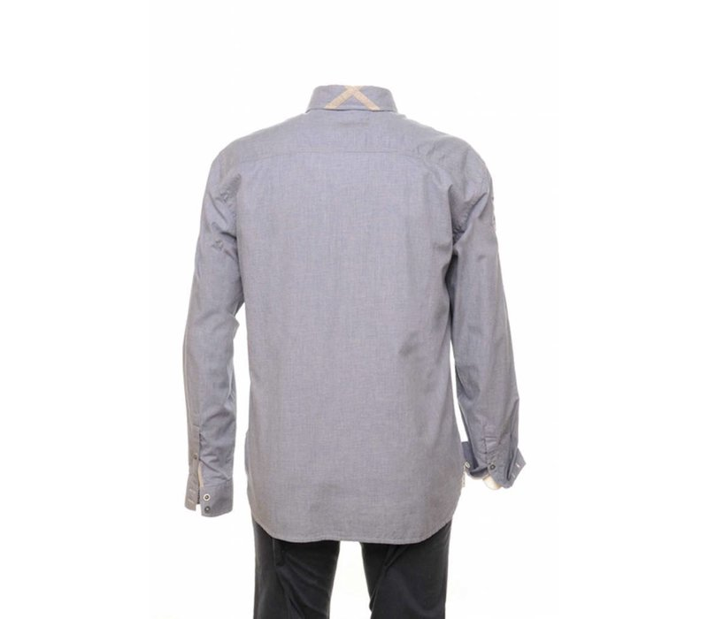 shirt ENRIQUE lavenderblue-grey