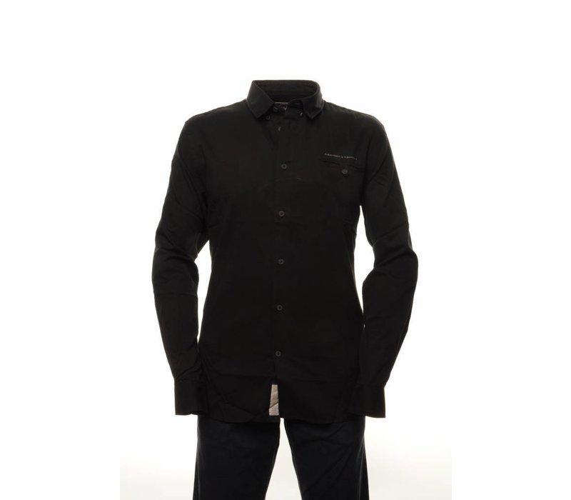 shirt FILIPPO black