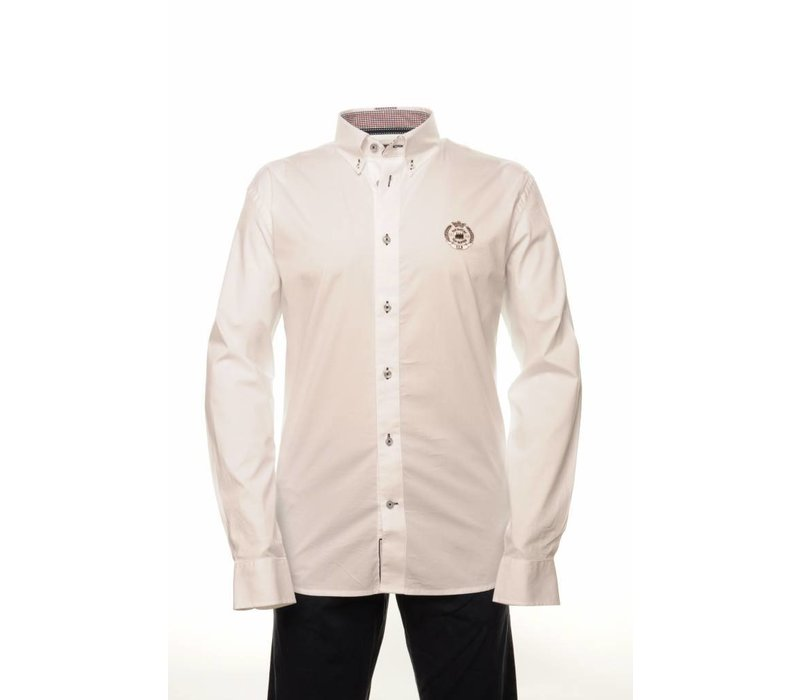 shirt ELVIO white