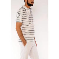 polo OLAF white-navy