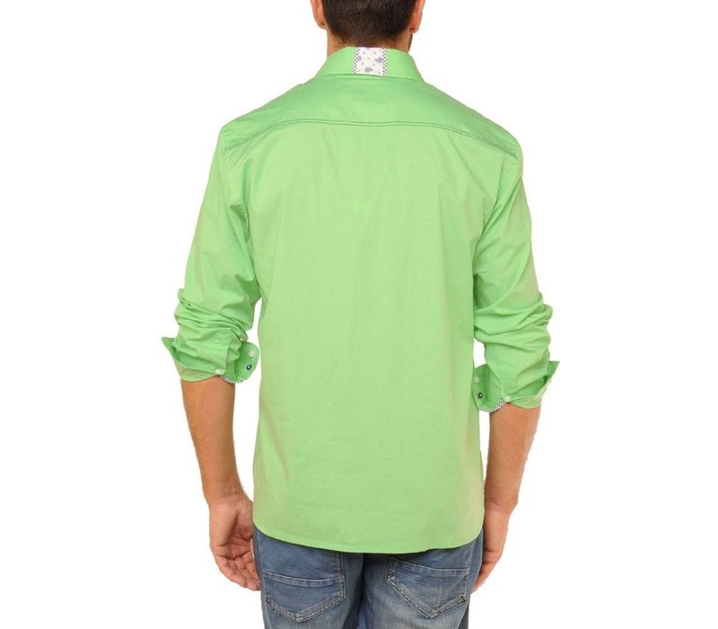 Shirt EDWARD U Light Green