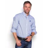 Shirt EDWARD D Briliant Blue-White
