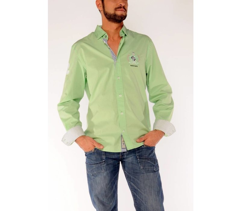 Shirt EMIL U Light Green