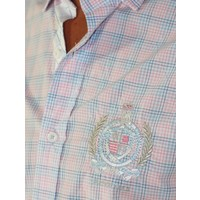 Shirt EMIL R Pink-Tropical Blue