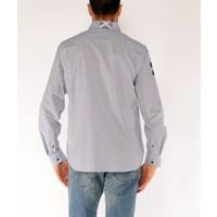 Shirt EMIL R White-Navy