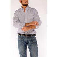 Shirt ETIENNE D White-Navy