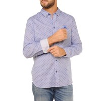 Shirt ERIC F Briliant Blue-Power Red