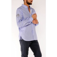 Shirt ESTEBAN R Azure-White