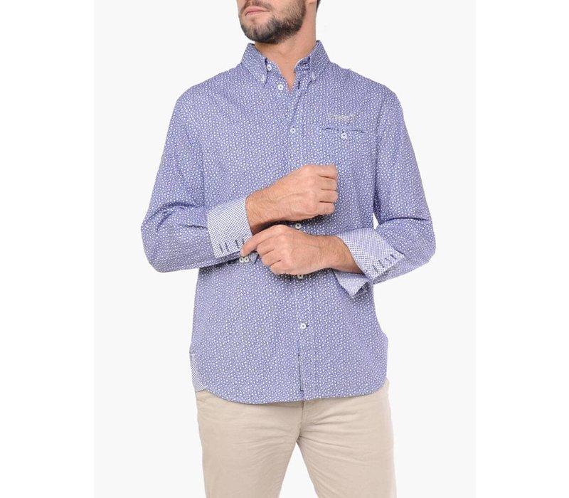 Shirt EMANUEL A Navy-White