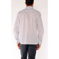 Shirt EMANUEL S White-Brilliant Blue