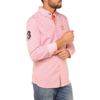 Shirt SANCHEZ R Pink-White