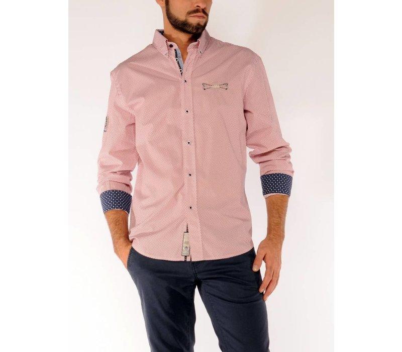 Shirt SERGIO N Power Red-White