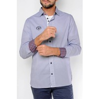 Shirt DAVID midnightnavy-white
