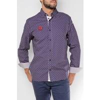 Shirt DAVID m.navy-tango