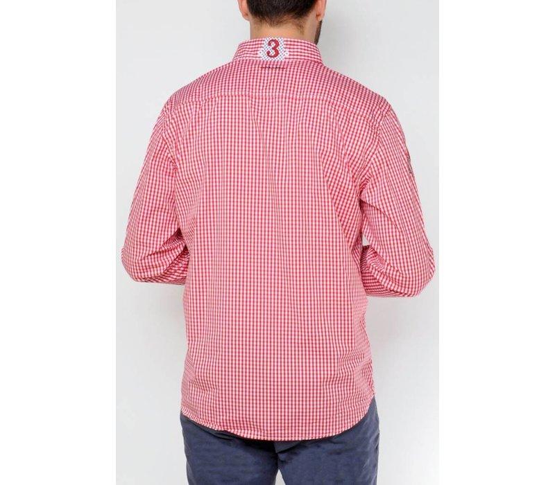 Shirt DONZEL tango-whtie