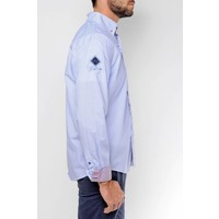 Shirt DONZEL blue-white