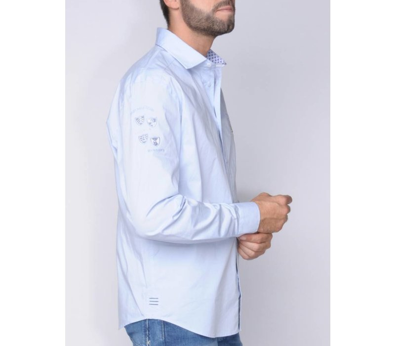 Shirt DEVANTE skyblue