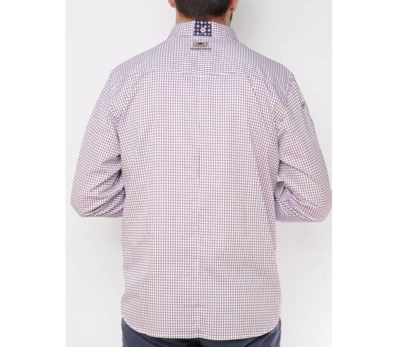 Shirt DIMITRI m.navy-tango