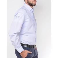 Shirt EFRAIN wit-blauw