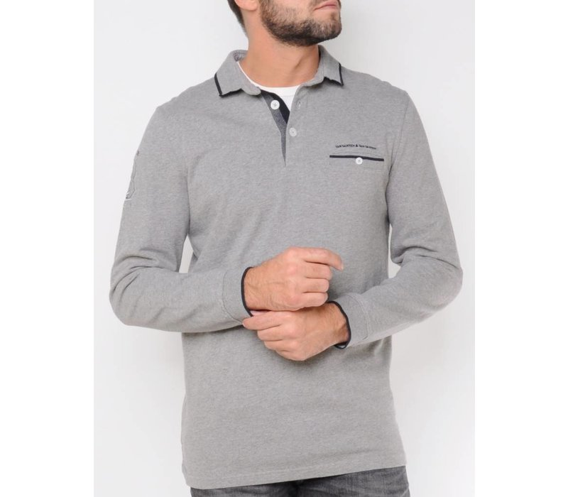 Sweater FELIPPE asphalt