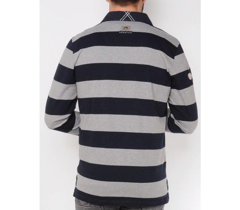 Sweater FERMIN midnightnavy-asphalt