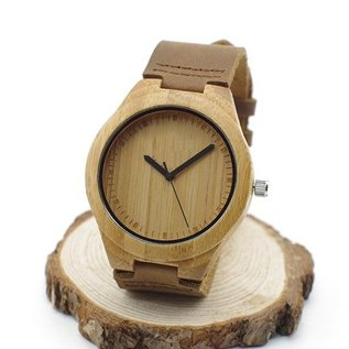 Bamboe horloge