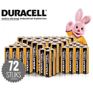72 x Duracell batterijen