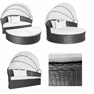 Luxe ratan loungebed