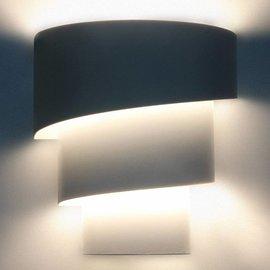 Wandlamp met schaduweffect