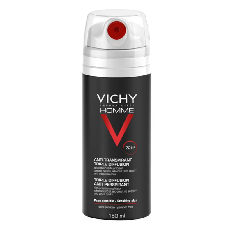 Vichy Vichy Homme Deodorant Triple Spray 72u - 150ml