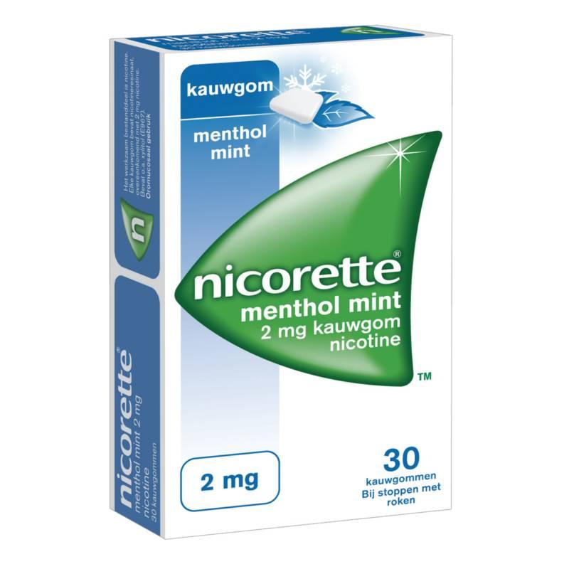 Nicorette NICORETTE® Kauwgom - 2mg Menthol Mint 30st