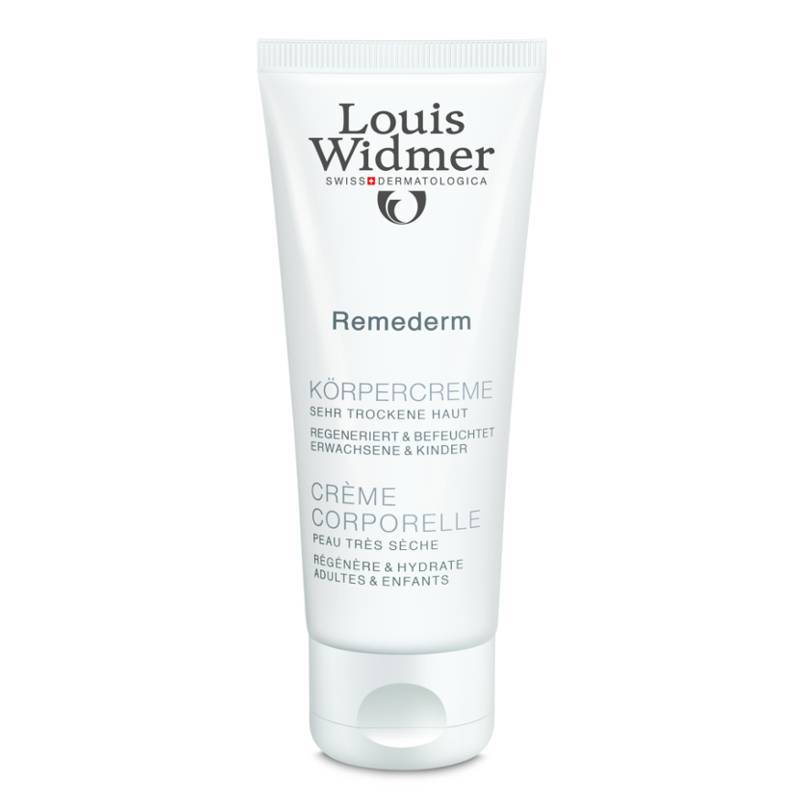 Louis Widmer Louis Widmer Remederm Lichaamscrème Tube Licht Geparfumeerd - 75ml
