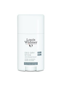 Louis Widmer Louis Widmer Deo Dry Stick Antiperspirant Zonder Parfum - 50ml