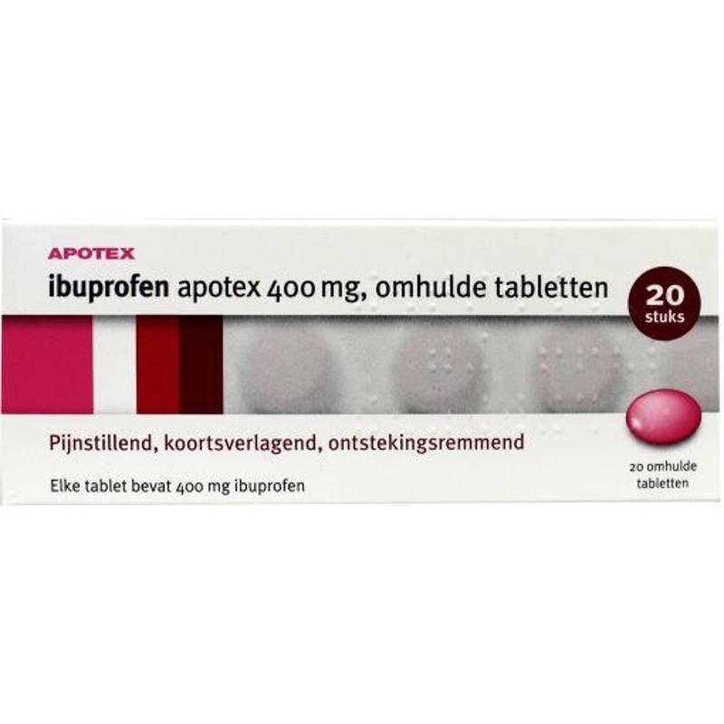 Apotex Ibuprofen Apotex 400mg - 20st