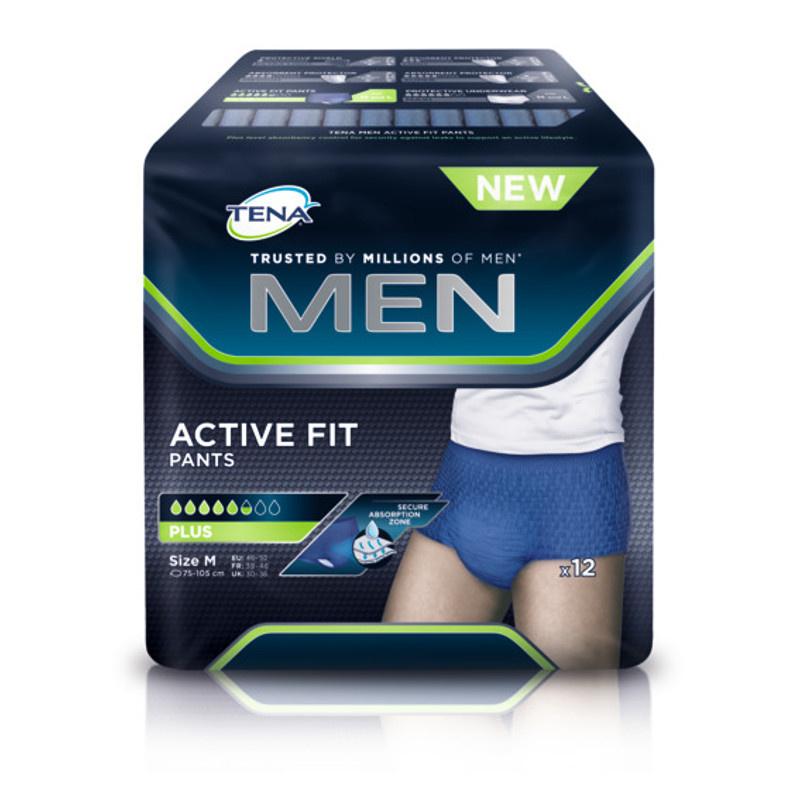 Tena Tena Men Active Fit Medium - 12st