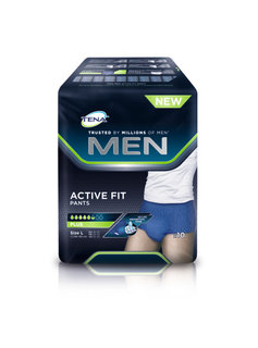 Tena Tena Men Active Fit Large - 10st