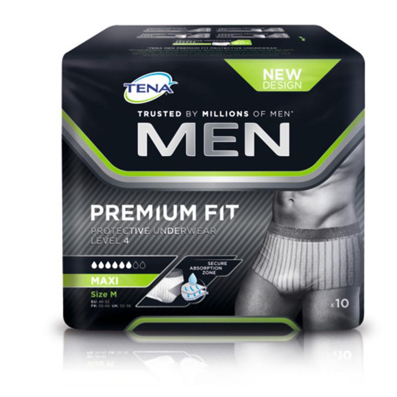 Tena Tena Men Premium Fit Medium - 12st