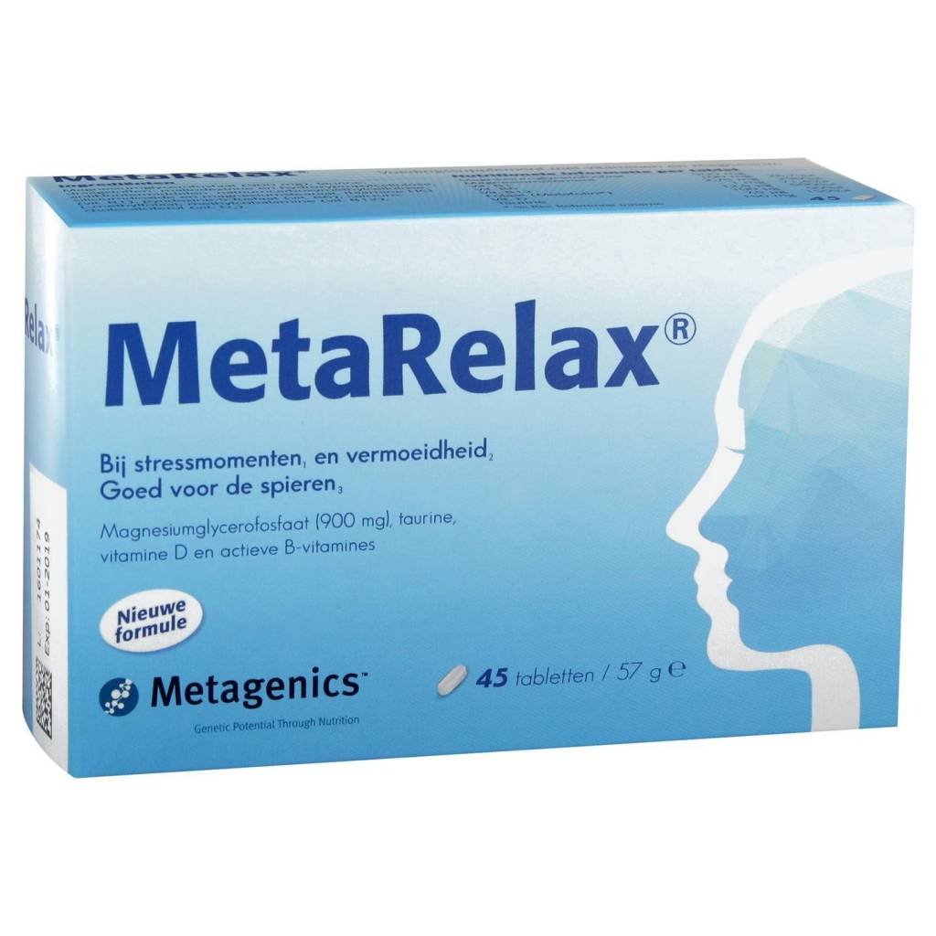 Metagenics MetaRelax - 45 tabletten