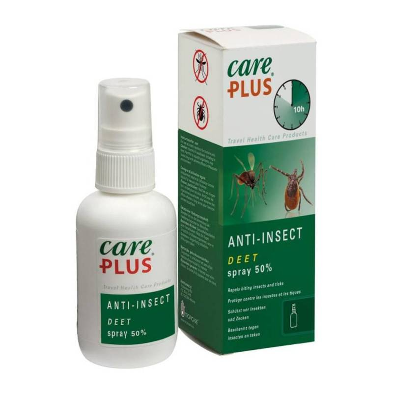Care Plus Care Plus Anti-Insect Deet Spray 50% - 60ml