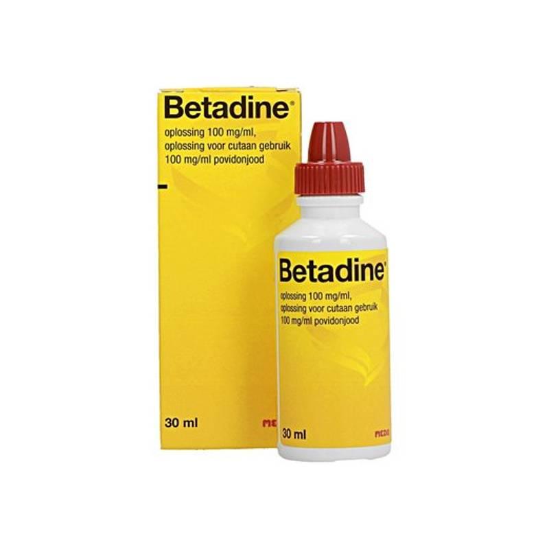 Betadine Betadine Oplossing - 30ml
