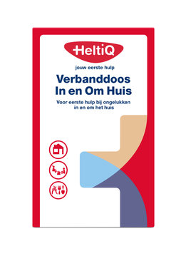 Heltiq Heltiq Verbanddoos In- en om het Huis