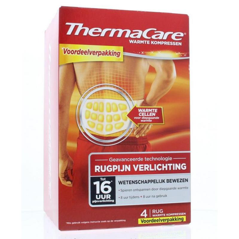 ThermaCare ThermaCare Warmte Kompressen 4 stuks
